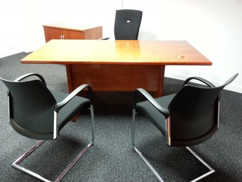 Ex Display Eborcraft Veneer Desk