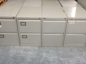 Second Hand Two Drawer Filing Cabinet