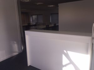 Top Marks for Final Office Furniture Install at Soben