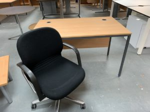 Used Desk and Chair Bundle Deal