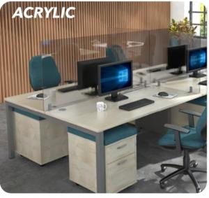 Acrylic Desk Mounted High Screens