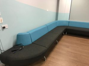 Used Connection Modular Soft Seating