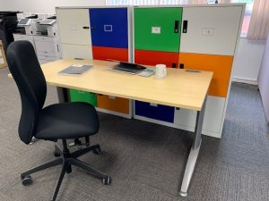 Used Desk and Chair Deal for the home