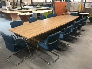 Used Office Interiors Boardroom Table