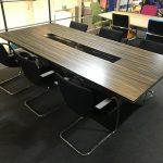 Sven Veneer Boardroom Table