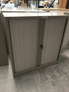 Used Bisley Tambour Cupboards