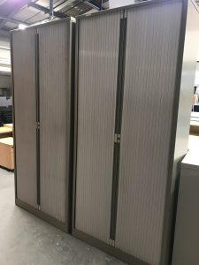 Used Tall Bisley Tambour Storage