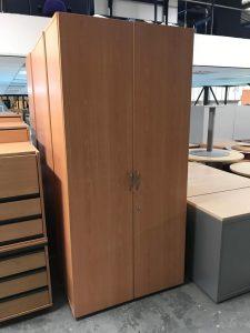 Second Hand Two Door Wooden Cupboards