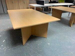 Second Hand Rectangular Meeting Table