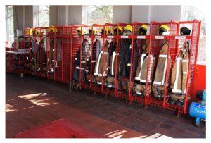 Heavy Duty Firefighter Lockers